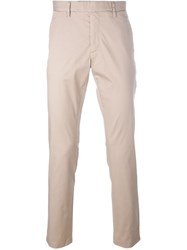 Michael Kors Straight Leg Chinos Nude And Neutrals
