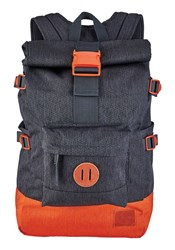 Nixon Navy And Orange Swamis Backpack 25 L Blue
