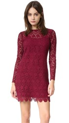 Shoshanna Mena Lace Dress Port