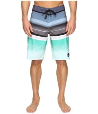 Quiksilver Everyday Stripe Vee 21 Boardshorts Nightshadow Blue Men's Swimwear Navy