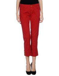 Love Moschino 3 4 Length Shorts Red