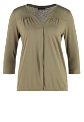 Marc O'polo Long Sleeved Top Dry Sage Oliv