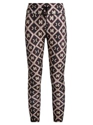 The Upside Batik Print Performance Leggings Multi