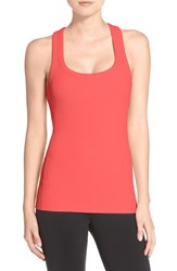 Alo Yoga Women's Alo 'Support' Ribbed Racerback Tank Guava