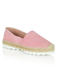 Daniel Sloane Square Cleated Sole Espidrilles Pink