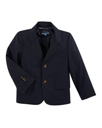 Andy And Evan Cotton Two Button Blazer Navy