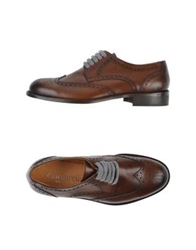 Cantarelli Lace Up Shoes Brown