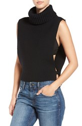 Joe's Jeans Women's 'Marlow' Open Side Wool Turtleneck Vest