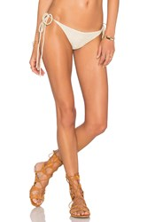 Beach Riot X Revolve X A Bikini A Day Calliope Bottom Metallic Gold