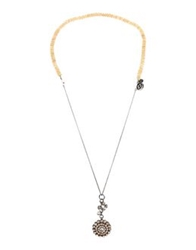 Mawi Necklaces Light Yellow