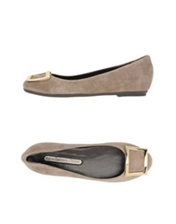 Manufacture D'essai Ballet Flats Dark Brown