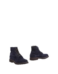 Project One Ankle Boots Dark Blue
