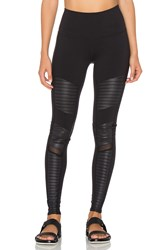 Alo Yoga High Waisted Moto Legging Black