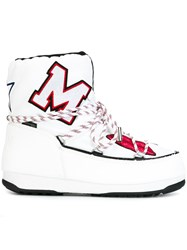 Msgm Moon Boots White