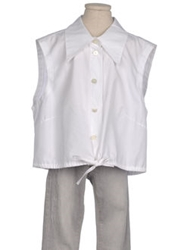 Plein Sud Jeans Sleeveless Shirts White