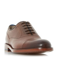 Oliver Sweeney Lupton Toecap Leather Oxford Shoes Brown