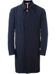 Thom Browne Raincoat Blue