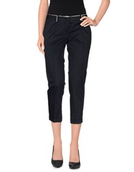 Mauro Grifoni Trousers 3 4 Length Trousers Women Dark Blue