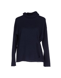Armani Collezioni Turtlenecks Dark Blue