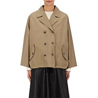 Tomorrowland Women's Trench Cape Tan
