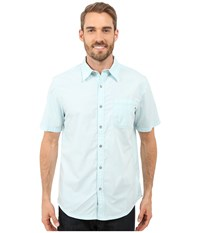 Marmot Dorset Short Sleeve Light Blue Men's Short Sleeve Button Up
