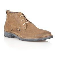 Lotus Coventry Lace Up Formal Desert Boots Grey