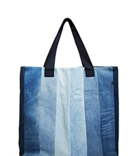 Schmidttakahashi Denim Tote Bag Blue