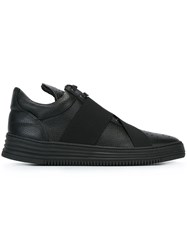 Filling Pieces Elastic Detail Sneakers Black