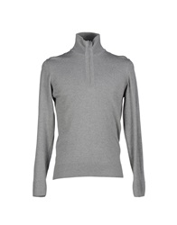 Alpha Massimo Rebecchi Turtlenecks Light Grey
