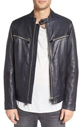 G Star Men's Raw 'Mower' Leather Moto Jacket