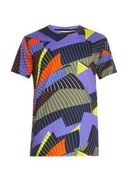 Christopher Kane Striped Paper Print T Shirt