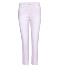 Isabel Marant Etoile Nico Cotton And Linen Blend Trousers Purple