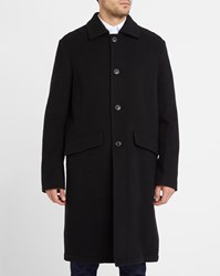 Our Legacy Black Car Soft Wool Coat