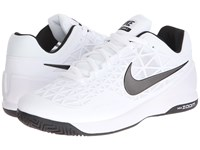Nike Zoom Cage 2 White Cool Grey Black Men's Tennis Shoes