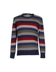 Original Vintage Style Knitwear Jumpers Men Dark Blue