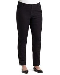 Lafayette 148 New York Houndstooth Jacquard Slim Jeans Women's