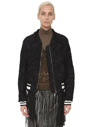 Damir Doma Cotton Blend Fil Coupe Bomber Jacket