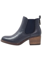Be Natural Ankle Boots Navy Dark Blue