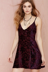 Nasty Gal After Party Vintage Fiona Velvet Dress