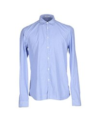 Officina 36 Shirts Shirts Men Azure