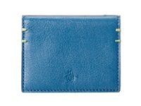 Original Penguin Leather Wallet Blue Sapphire Bi Fold Wallet