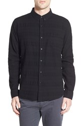 Men's Ezekiel 'Beck' Jacquard Chevron Woven Shirt