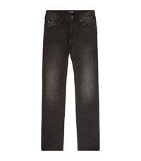 Armani Jeans Slim Straight Faded Male Black