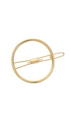 Mrs. President And Co. Large O Barrette Gold Matte