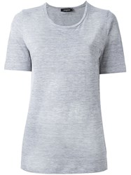 Dsquared2 Classic Short Sleeved T Shirt Grey