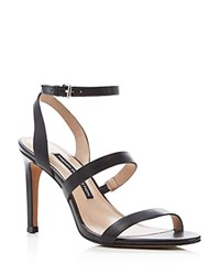 French Connection Lilly Strappy High Heel Sandals Black