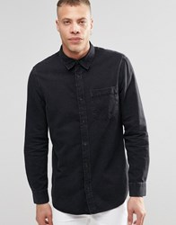 Weekday Class Denim Shirt Washed Black Washed Black 09 090