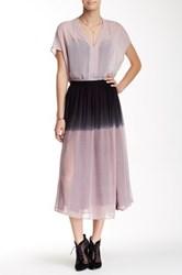 Stella And Jamie Azura Ombre Skirt Black