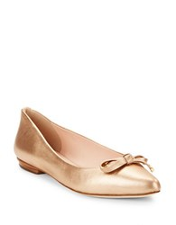 Kate Spade Emma Pointed Toe Flats Rose Gold