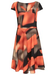Nougat London Fulham Printed Dress Multi Coloured